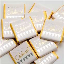 'It's Time To Celebrate' Chocolate Neapolitans - 50pk