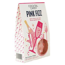 Pink Fizz Flavoured Gummy Bottles