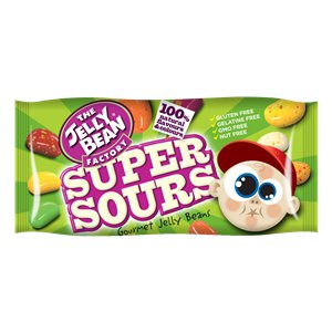 Super Sours Jelly Beans Bag