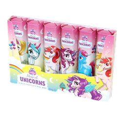 Unicorn Milk Chocolate Mini Bars