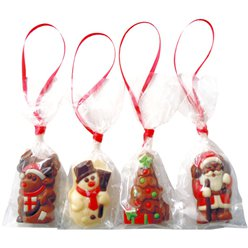 Christmas Chocolate Tree Decoration - 8pk