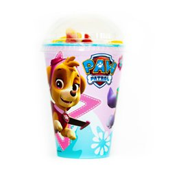 Pink Paw Patrol Sweet Cup with Jellies & Mallow