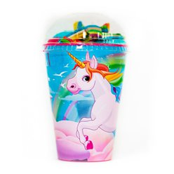 Unicorn Sweet Cup with Jellies & Marshmallows