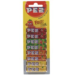 PEZ Fruit Mix Flavour Refills - 8pk