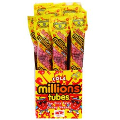 Cola Millions Tube Bulk Box
