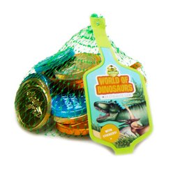 Dinosaur Chocolate Coins