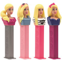 Barbie Pez Dispenser & Refill