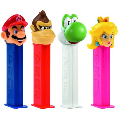 Nintendo Pez Dispenser & Refill