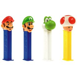 Nintendo PEZ Dispenser & Refills