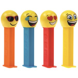 Emoji PEZ Dispenser & Refills