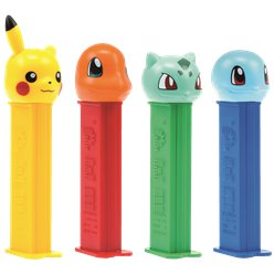 Pokemon Pez Dispenser & Refill