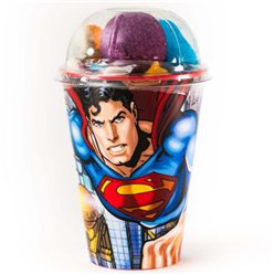 Superman Cup with Jellies & Mallow