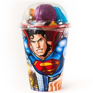 Superman Cup with Jellies & Marshmallows
