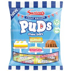 Great British Puds Chew Bars