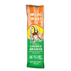Mini Moo's Organic Cheeky Orange Bar