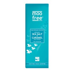 Vegan Marvellously Moreish Organic Sea Salt & Caramel Bar