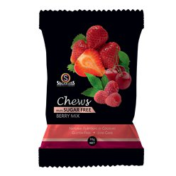 Sugar Free Berry Mix Chews Bag