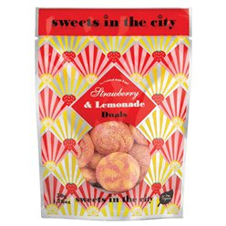 Vegan Strawberry & Lemonade Fizzy Sweets