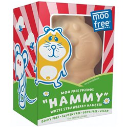 Vegan Moo Free Organic White Strawberry Hammy Hamster