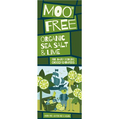 Moo Free Vegan Sea Salt & Lime Bar