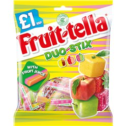 Fruit-tella Duo Stix Chews