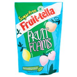 Fruit-tella Sugar Free Fruit Foams
