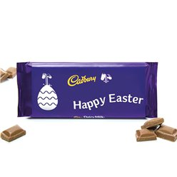 Happy Easter Cadburys Dairy Milk Bar - 360g