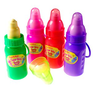 Super Baby Fruit Flavour Powder Bottle with Vanilla Flavour Top