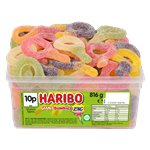 Haribo Sour Suckers Tub
