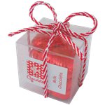 Chocolate Hearts Gift Cube - 40g