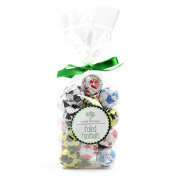 Chocolate Footballs Gift Bag