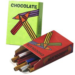 Chocolate Crayons