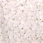 White Mini Heart Mints 1kg Bulk Bag