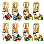 Bag of 8 Chocolate Bunnies - 100g