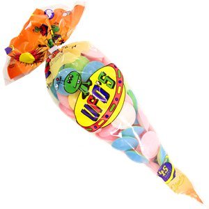 Sherbet Flying Saucers Cone 55g Bag