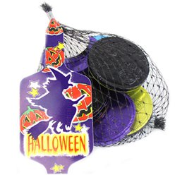 Net of Halloween Chocolate Coins - 50g