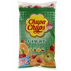 Chupa Chups Fruit Flavour Lolly Bulk Bag