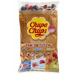 Chupa Chups Best of Variety Lolly Bulk Bag - Bulk Sweets