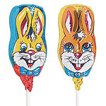 Bunny Rabbit Chocolate Lolly - 15g