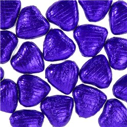 Indigo Chocolate Hearts