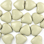Ivory Chocolate Hearts