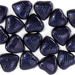 Navy Chocolate Hearts