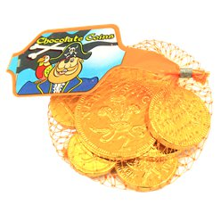 Pirate Chocolate Coins