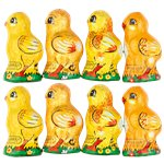 Bag of 8 Chocolate Easter Chicks - 100g