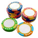 Chocolate Casino Chips - 115g