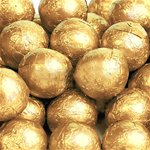 Milk Chocolate Balls - Gold