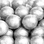 Milk Chocolate Balls - Silver