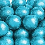 Milk Chocolate Balls - Turquoise
