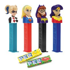 DC Superhero Girls Pez & Refills