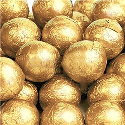 Gold Chocolate Balls